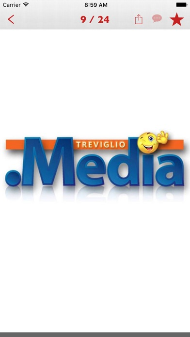 Screenshot of Treviglio.Media3