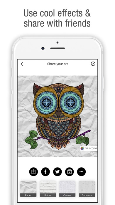download Tap & Color - Coloring book for adults & kids appstore review