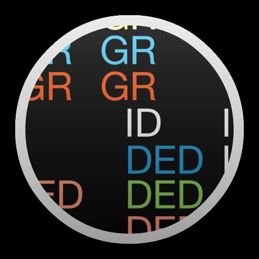 Gridded - Flashcards