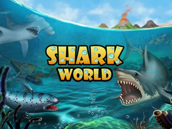 SHARK WORLD Sharks Jurassic Animal Battle Games On The App Store