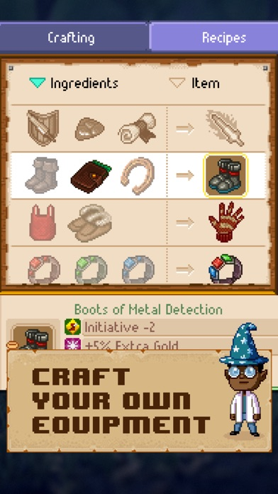 Knights of Pen & Paper 2 Screenshots