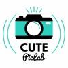 Cute Pic Lab 照片編輯器 標題非常容易 的精美相框及貼紙 創作美麗照片
