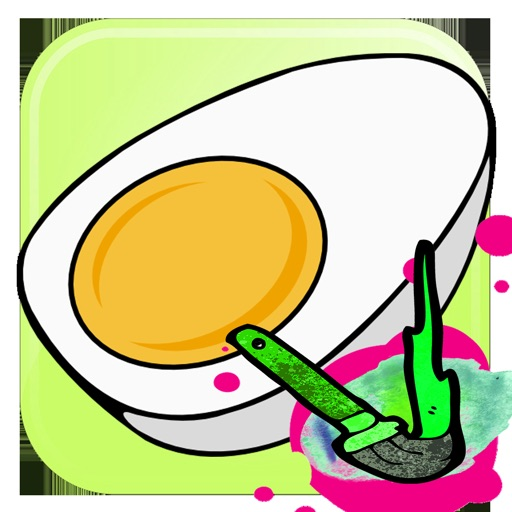 Egg Coloring Book Painting App For Kids By Harutai Khaikaew
