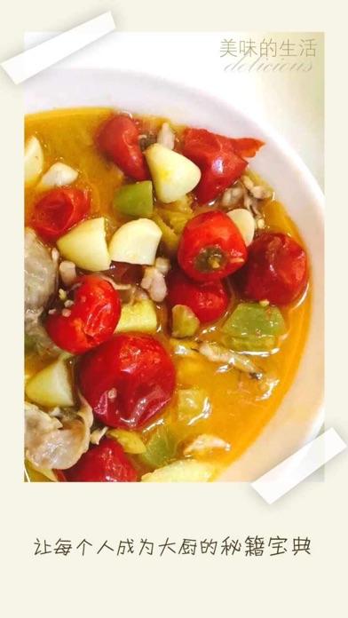 Gourmet recipes - a recipe booksScreenshot of 2