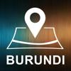 Burundi, Offline Auto GPS App