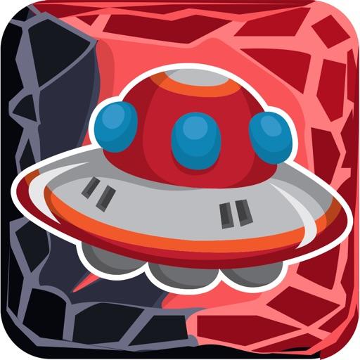 UFO Alien Match 3 Puzzle Game Icon