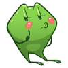 Emoji Cartoon Frog Stickers Wiki
