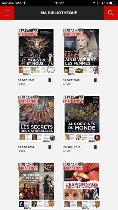 Les Cahiers De Science Vie Magazine review screenshots
