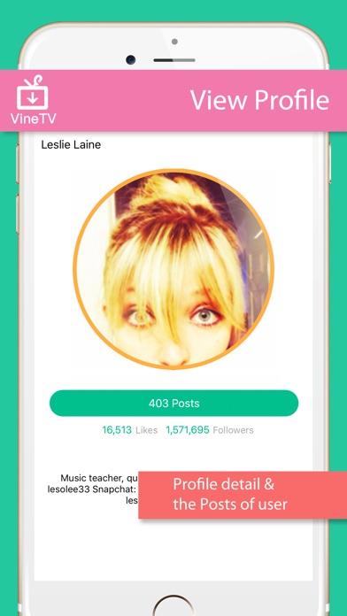 Screenshots of VineTV - Downloader for Vine, save Vine videos for iPhone