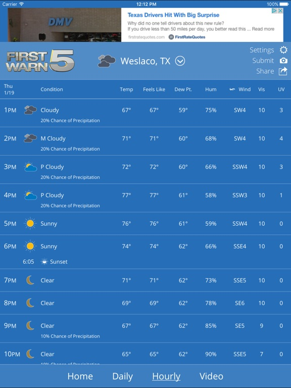 krgv first warn 5 weather on the app store