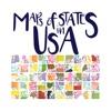 Стикеры Карты государств в США от Şebnem Özkanem