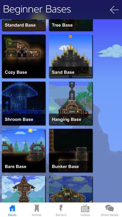 Bases & Arenas for Terraria - TerraPedia Pro Gamer by