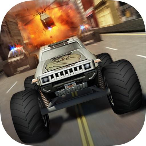 疯狂怪物卡车 逃逸:Crazy Monster Truck – Escape