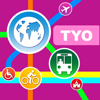 東京(日本)地圖 - 下載地鐵,鐵路線路圖和旅游指南