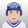 Kansas City Baseball Stickers & Emojis