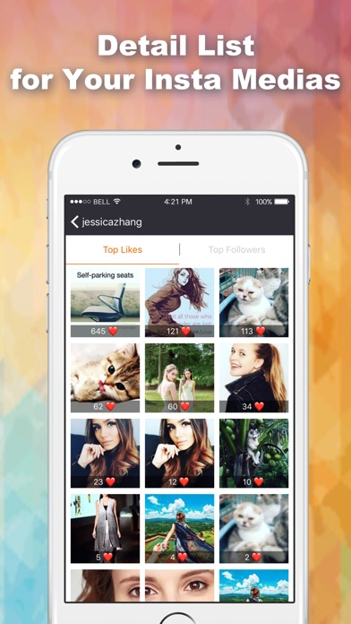 download Likes Tracker: Likes and Followers + for Instagram appstore review
