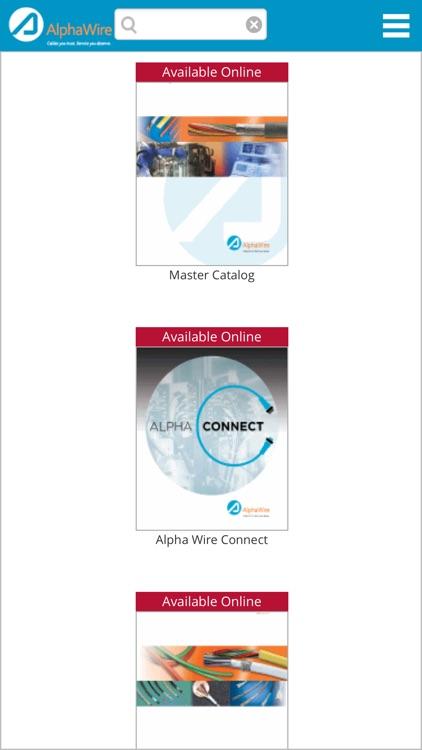 Alpha Wire Literature by Alpha Wire
