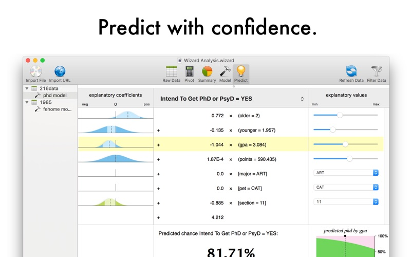 Screenshot #4 for Wizard - Statistics & Analysis