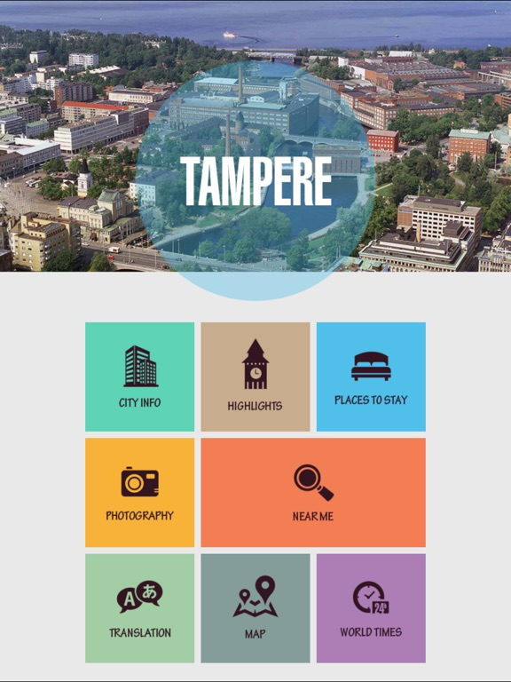 Tampere Tourism Guide on the App Store