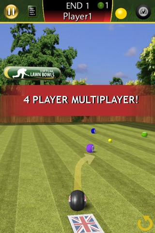 Virtual Lawn Bowls screenshot 3