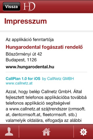 Hungarodental screenshot 2