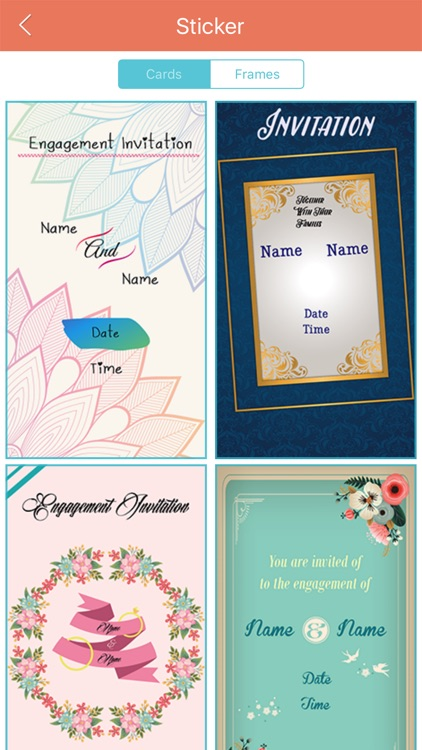 Engagement invitation cards maker by bhavik savaliya engagement invitation cards maker stopboris Gallery