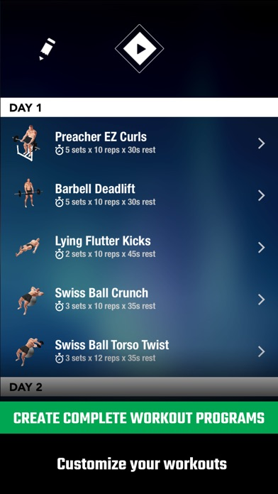 GymStreak Pro - Bodybuilding Tracker Screenshots