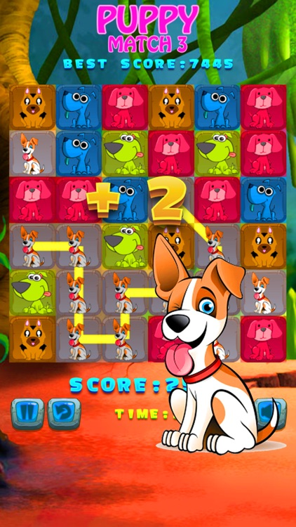 puppy drag line match dog puzzle game for kids by marut puppy drag line match 3 dog puzzle game for kids