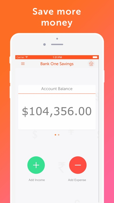 Screenshot #10 for Easy Spending - Money tracker, Budget Planner
