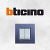 BTicino Two Modules Wiring Devices