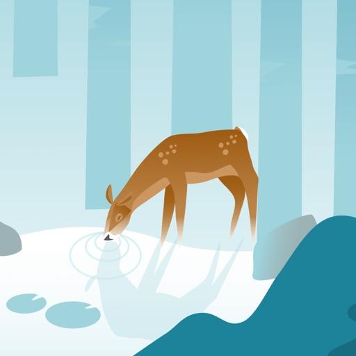 Wildfulness - 通过大自然的声音和插图在大自然中超然放松,平静心绪。