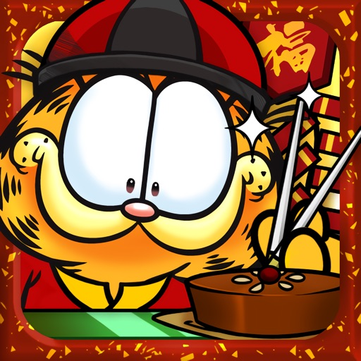 Garfield's Defense: Attack of the Food Invaders iOS App