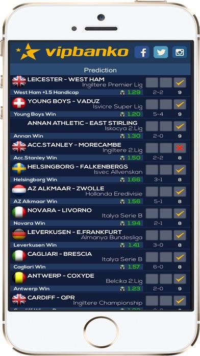 Screenshot of VIP Pronostici Calcio Serie A4