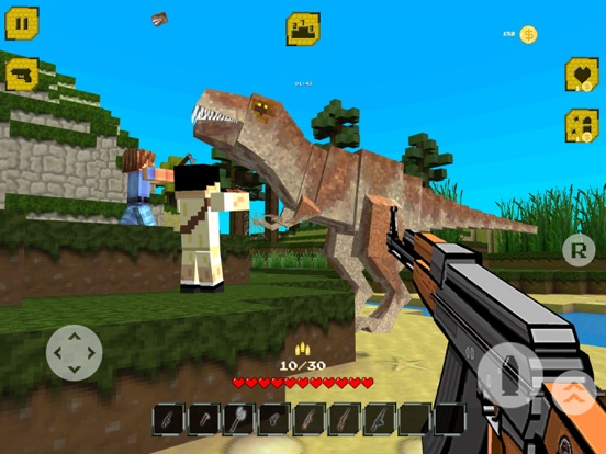 The Hunt: Jurassic Craft World Screenshots