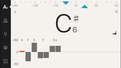 Screenshot #5 for Cadenza: Tuner + Metronome