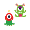 Cute Aliens from space