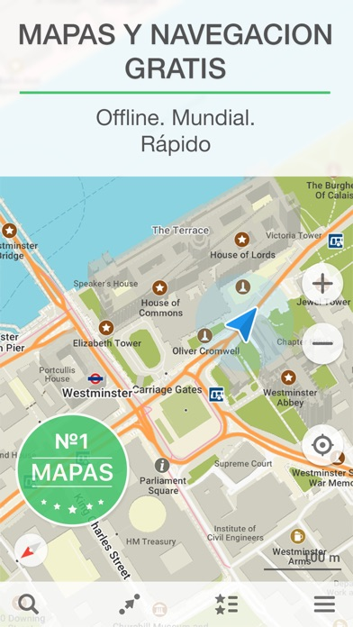 download MAPS.ME – Mapa offline con GPS apps 0