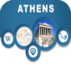 Athens Greece Offline Map Navigation GUIDE