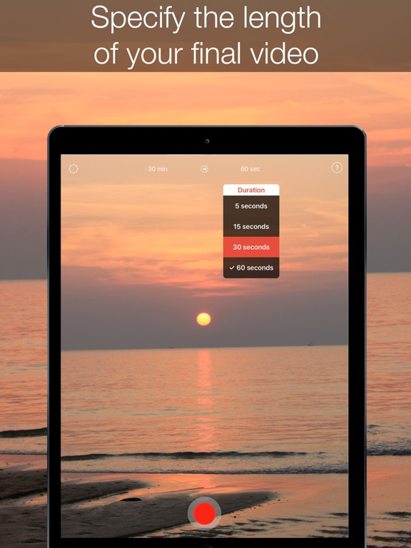 InstaSun — time-lapse sunsets! Screenshots