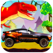 Car Racing Dinosaurs World App Icon Artwork