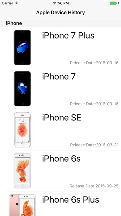 Device History Im App Store