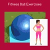Fitness ball exercises ball