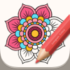 Colory: Adult Color-ing Pages App