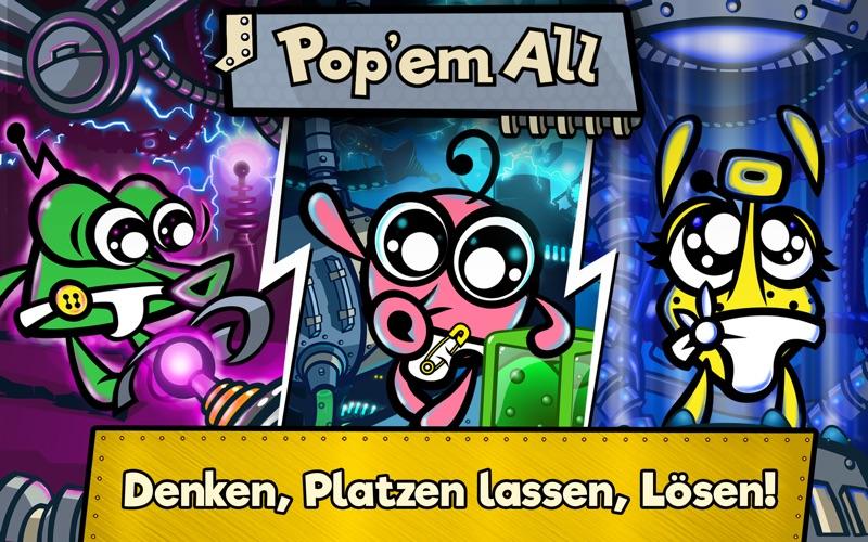 Pop 'em all: Mysteriöses Puzzleabenteuer Screenshot