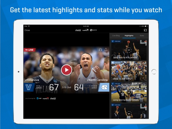 NCAA March Madness Live - Men's College Basketball iPad