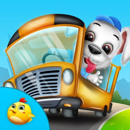 Baby Puppy School Trip Fun iOS App