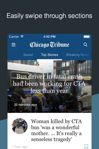 Chicago Tribune screenshot 1