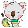 Kuruu the funny koala 2 for iMessage Sticker App