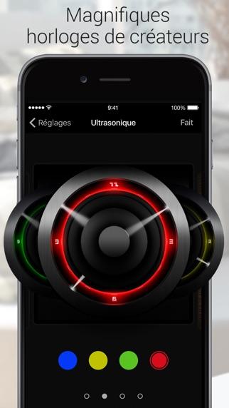 Capture d'écran iPhone 9