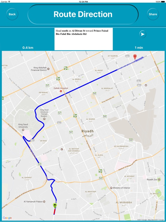 Riyadh Saudi Arabia Offline City Maps Navigation on the App Store